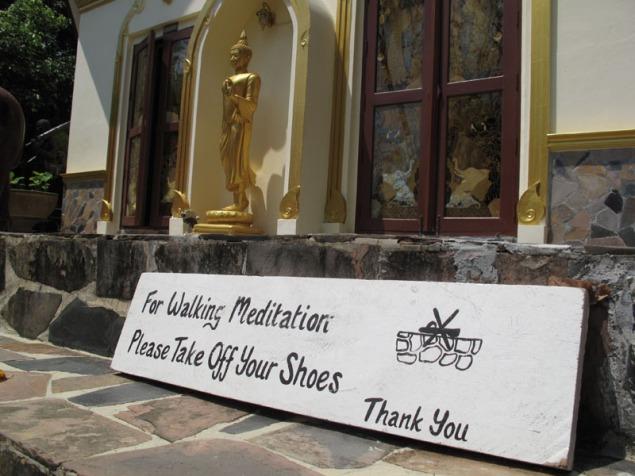Koh Phangan Wat Kow Tham retreat 5