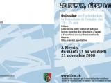 Brochure orient. prof Ville Meyrin